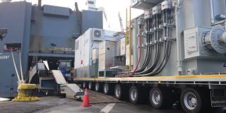 Höegh's RoRo solution chosen for 112MT Transformer shipment