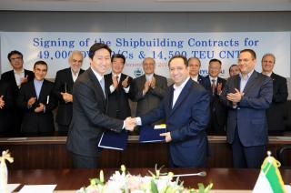 IRISL Signed Shipbuilding Order with Hyundai Heavy Industries Group