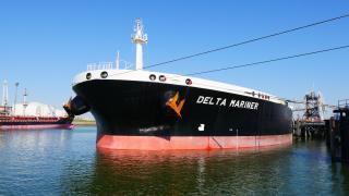 Delta Mariner first to use deepened Nieuwe Waterweg at the Port of Rotterdam