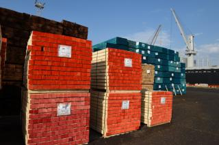 Port of Riga reports a significant increase of timber cargo handled by the port