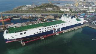 DFDS' Largest ferry named and ready for service