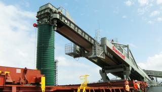 Siwertell designs new triple-enclosed loading system for eco-friendly ore handling operations in Ireland