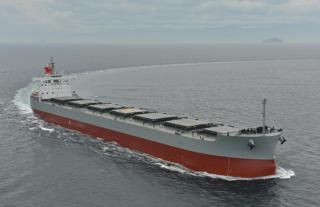 K-Line takes delivery of Corona-series coal carrier Corona Wisdom