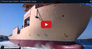 Video: Isaac Newton launching