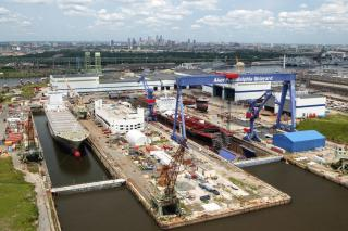 Philly Shipyard places TOTE containership project on hold and considers alternative projects