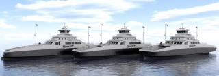 Five new fully electric battery ferries of MM design ordered
