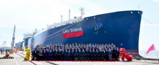 LNG Carrier for Yamal LNG Project Named LNG DUBHE