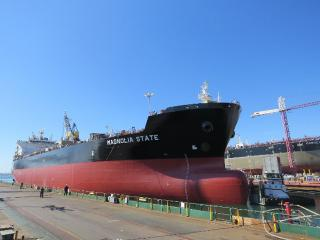General Dynamics NASSCO Christens Second ECO Class Product Carrier for American Petroleum Tankers