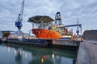 Damen Shiprepair Rotterdam successfully completed the refit of Petrojarl 1