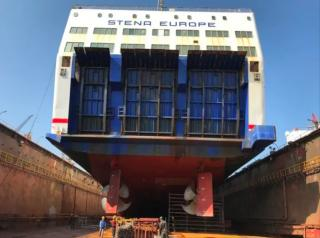 Stena Europe Undergoes Refit Upgrades in Turkey