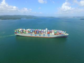 Panama Canal welcomed its 5,000th Neopanamax vessel through the waterway