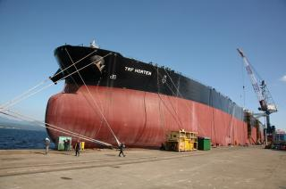 Hanjin successfully delivers another locally-made VLCC