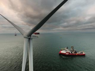 MHI Vestas Achieves Final Turbine Installation at Horns Reef 3