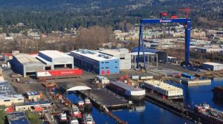 North Vancouver company awarded contract for work on naval supply ships