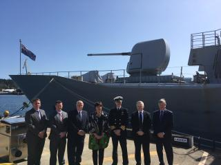 Seaspan Shipyards Celebrates Handover of HMNZS Te Kaha