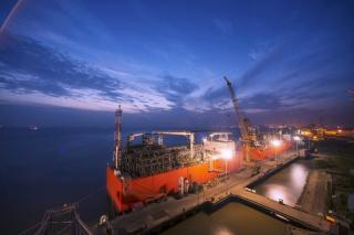 EXMAR's Barge Leaves Wilson Offshore Marine Shipyard for Singapore