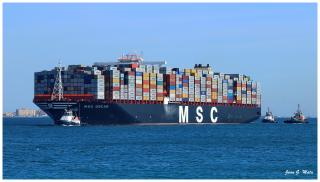 Port of Felixstowe welcomes the world's biggest container ship