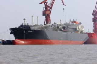 MOL announces delivery of the LNG carrier KUMUL at Hudong-Zhonghua Shipbuilding