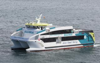 GONDAN delivered the second GRP ecofast ferry to Baleària