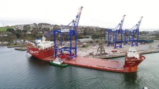 Three New Gantry Cranes Manufactured for Crowley's Puerto Rico Terminal
