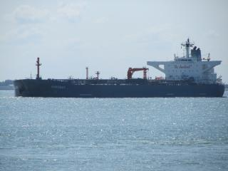 Tanker Nordbay struck wharf on the Mississippi River