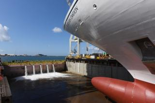 Seabourn celebrates major shipbuilding milestone with coin and launch ceremony for Seabourn Ovation