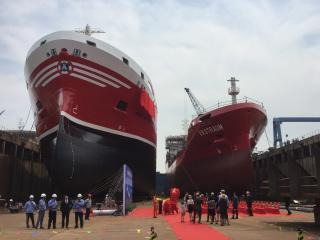 Gothia Tankers Alliance's sixth LNG-fueled tanker named RAMELIA