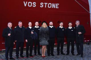 Vroon holds naming ceremony for VOS Stone