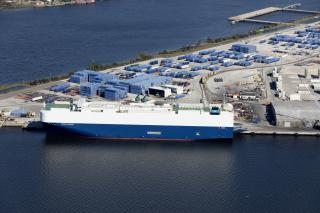 JAXPORT Records Double Digit Growth In Vehicles Volumes