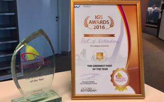 Rotterdam wins award for greenest port