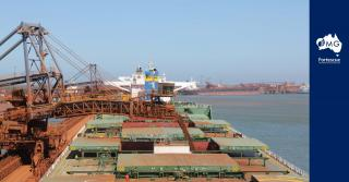 Fortescue's maiden shipment of West Pilbara Fines