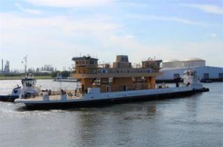 VT Halter Marine launches Virginia Department of Transportation's Jamestown-Scotland Ferry
