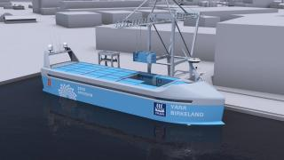 YARA and KONGSBERG enter into partnership to build world's first autonomous and zero emissions ship (Video)