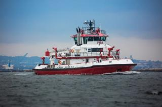 A second, new fireboat officially brought into service at the Port of Long Beach