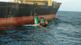 Three dead, 12 missing after collision between cargo ship and fishing vessel off Indonesia