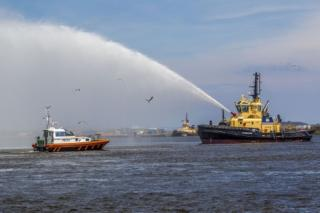 Naming ceremony for multi-million pound River Forth based tug and pilot boat