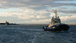 Svitzer holds a naming ceremony for newest London tug - Svitzer Meridian