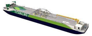 Fluxys and Titan LNG to build LNG bunkering pontoon for the Antwerp port and region
