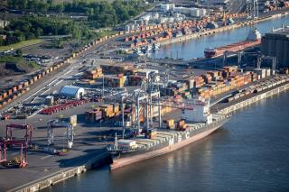 The MPA and Logistec Boosting Container Handling Capacity At The Port of Montreal