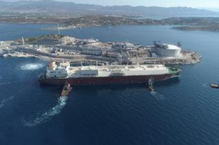 Qatargas delivers first Q-Flex LNG Cargo To Greece's Revithoussa Terminal