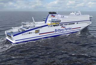 Brittany Ferries orders first LNG-fueled cross channel ferry