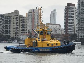 Wilson Sons delivers third Damen designed ASD Tug 2411 to SAAM SMIT Towage in Brazil (Video)