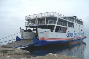 Ferry vessel Ran aground near the Philippines with 221 people onboard