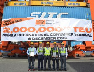 Manila's International Container Terminal Handles 2m TEUs