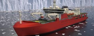 Spotted: Keel laying for Australia's new icebreaker in Romania