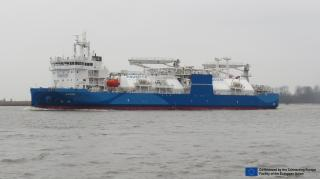 NEOT became the first company in the port of Södertälje to receive LNG from the world's largest LNG bunker supply vessel Kairos