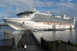 Port of Nanaimo welcomes the return of cruise ship Star Princess - A boost for Central Vancouver Island's local economy