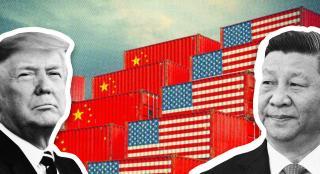 Trump hits back after China announces new tariffs