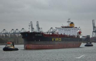 US Coast Guard medevacs injured man from oil tanker High Progress