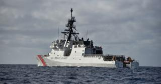 Coast Guard enforces North Korea sanctions in the East China Sea
